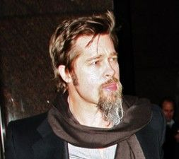 My Dead Husband's Goatee on Brad Pitt's Face